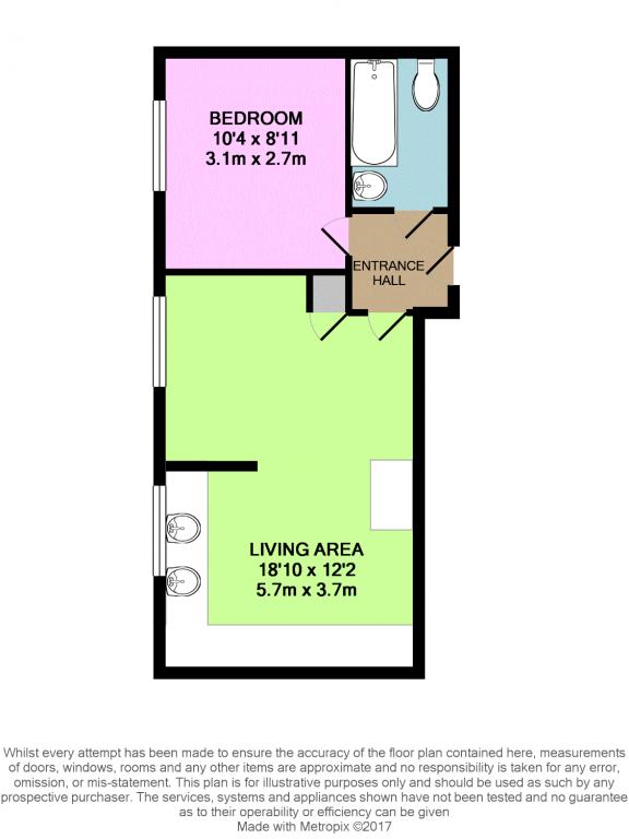 Ascot Court Aldershot Gu11 1 Bedroom Flat For Sale
