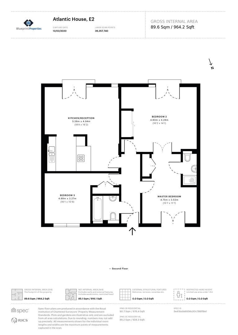 Atlantic House Waterson Street Shoreditch E2 3 Bedroom Flat For Sale 56546184 Primelocation