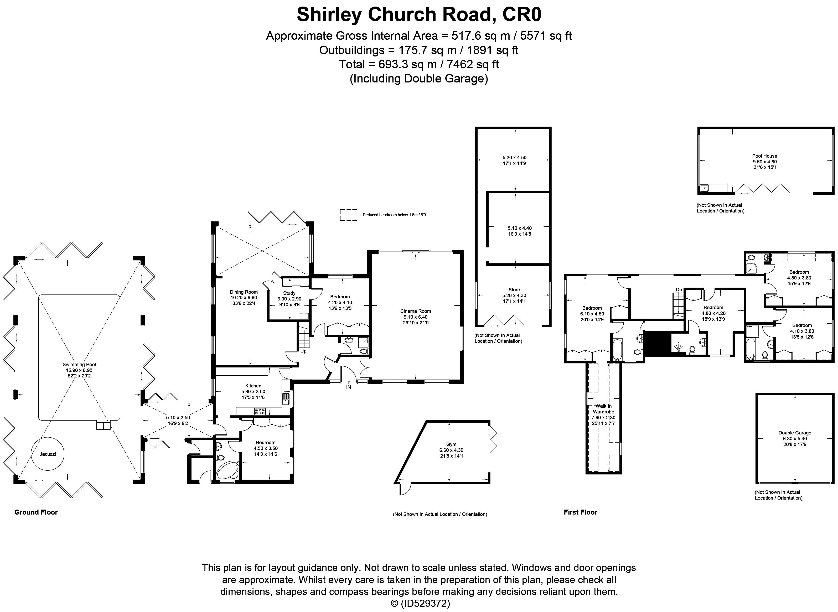 Shirley Church Road, Croydon CR0, 6 bedroom detached house