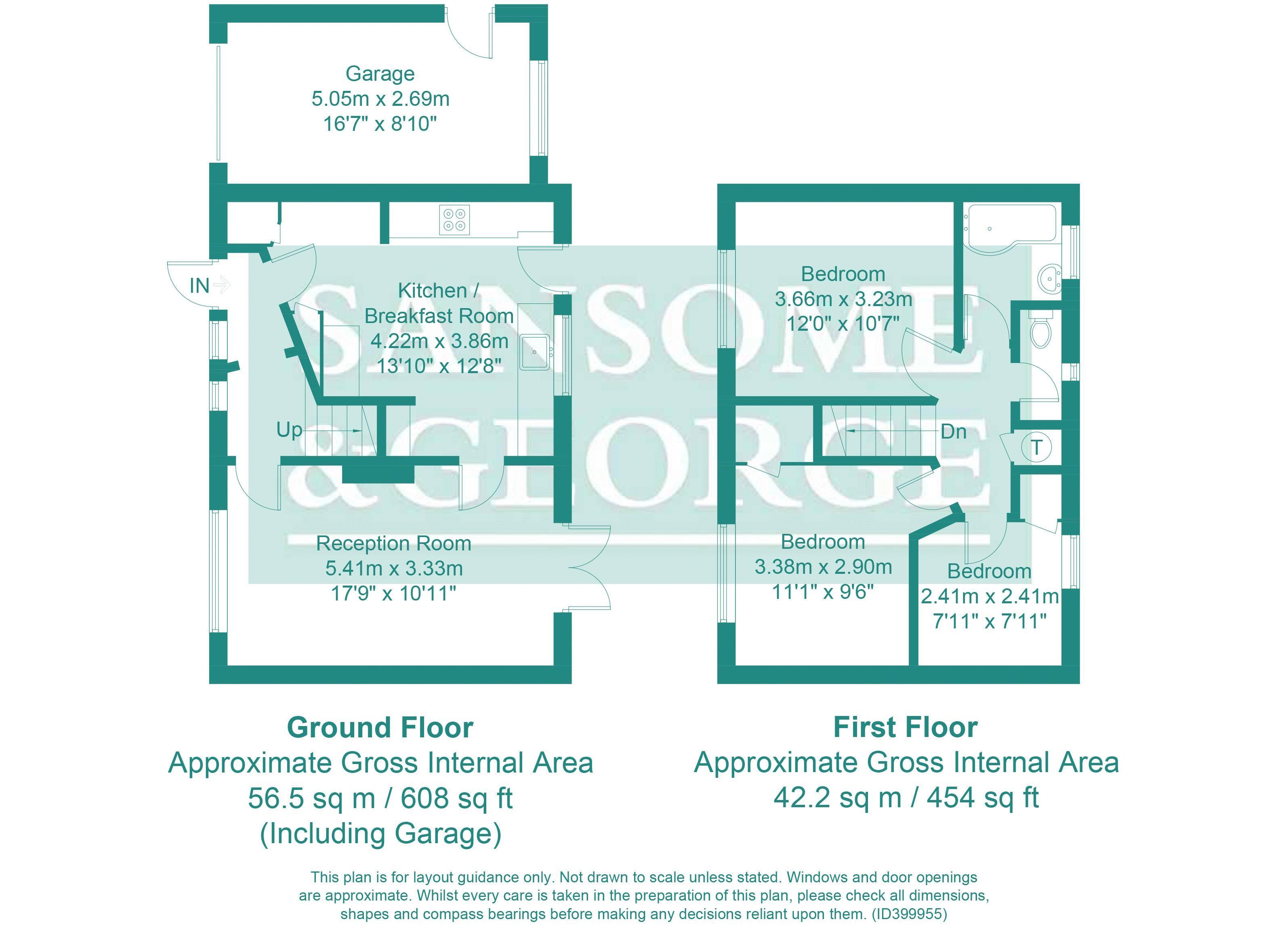 Bishopswood Road, Tadley RG26, 3 bedroom end terrace house for sale ...