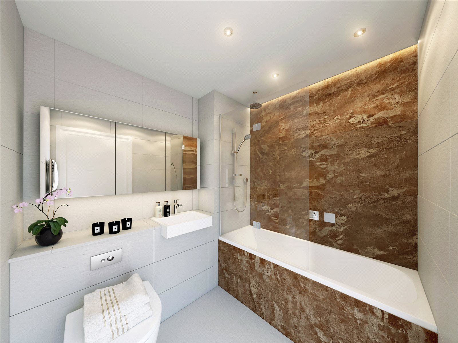 Onyx Apartments,Bathroom