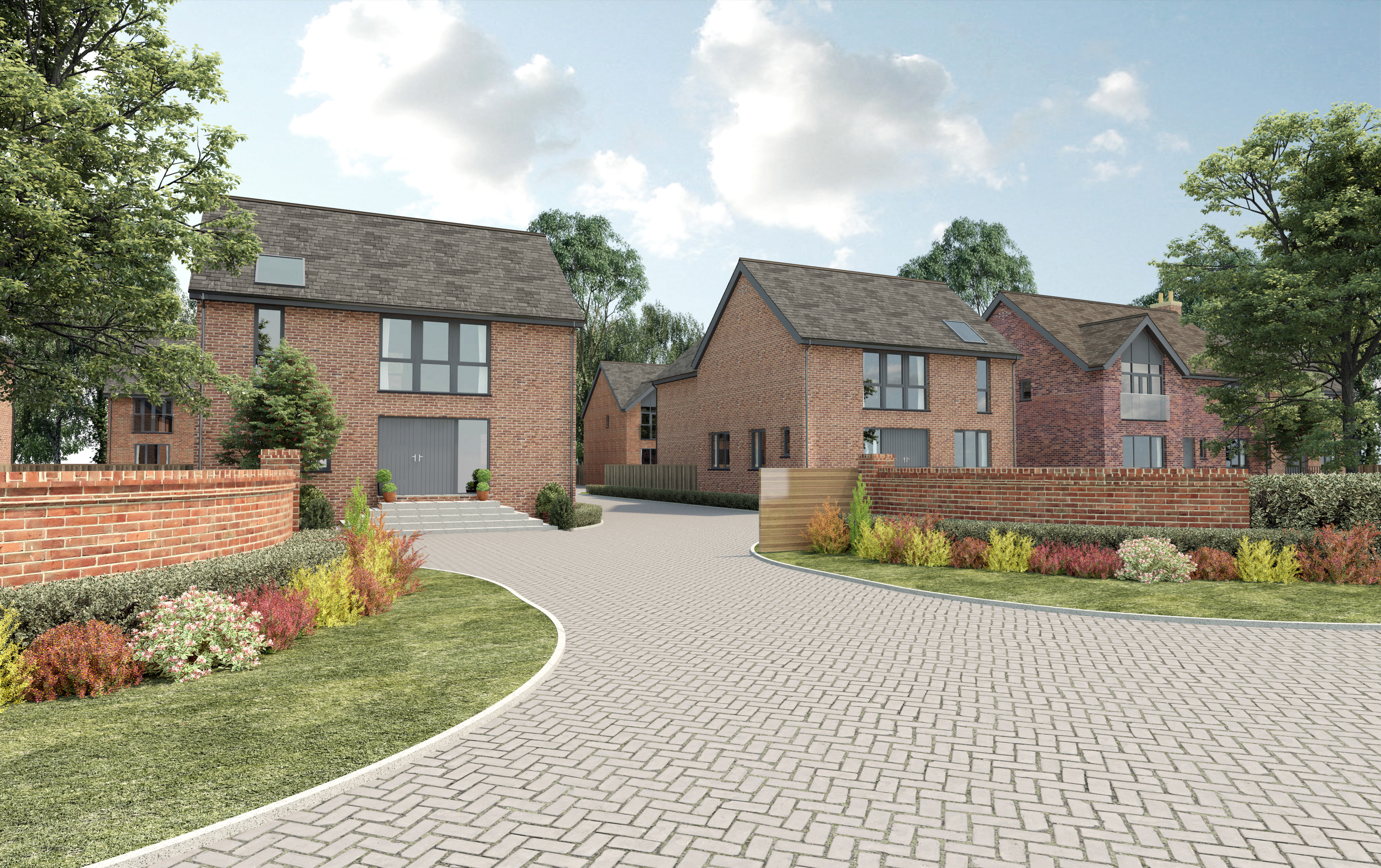 Hampton Gate Friday Lane Solihull B92 4 Bedroom Detached House Full Brick Brand New Home On Wiring To Garage For Sale 45933952 Primelocation