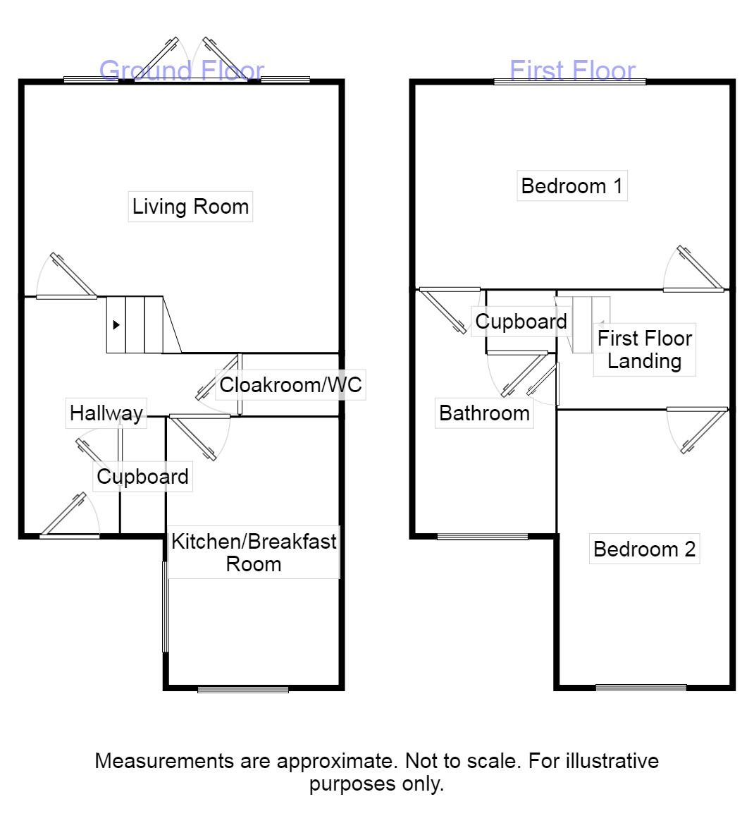 2 Bedroom Semi Detached House For Sale 44518902