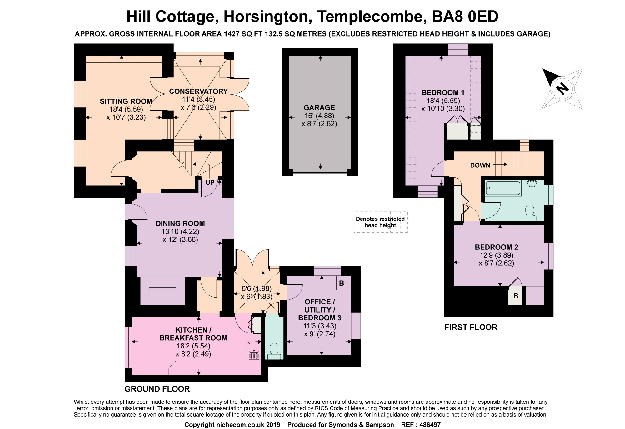 3 Bedrooms Detached house for sale in Horsington, Templecombe, Somerset BA8