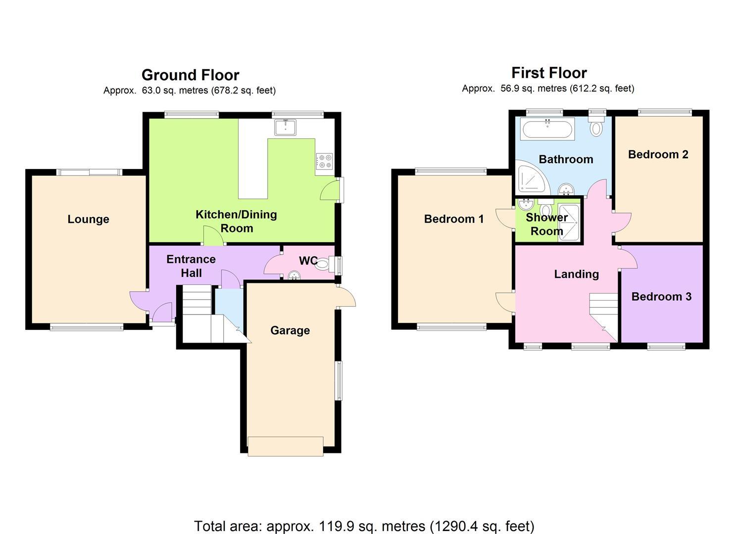 Glenside Woodthorpe Nottingham Ng5 3 Bedroom Detached