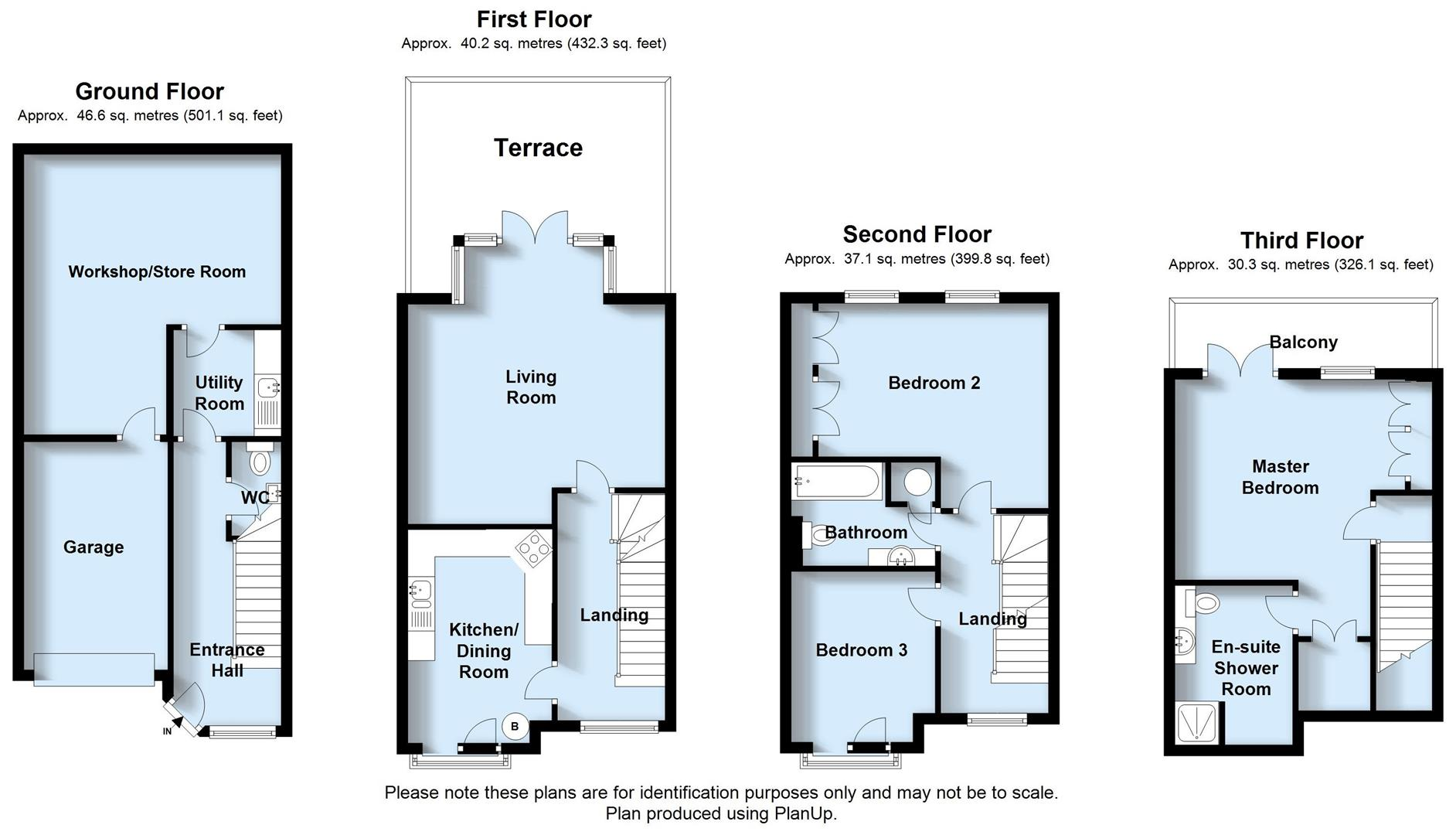 3 bed semi detached house for sale in esplanade mews for 15 bruyeres mews floor plans