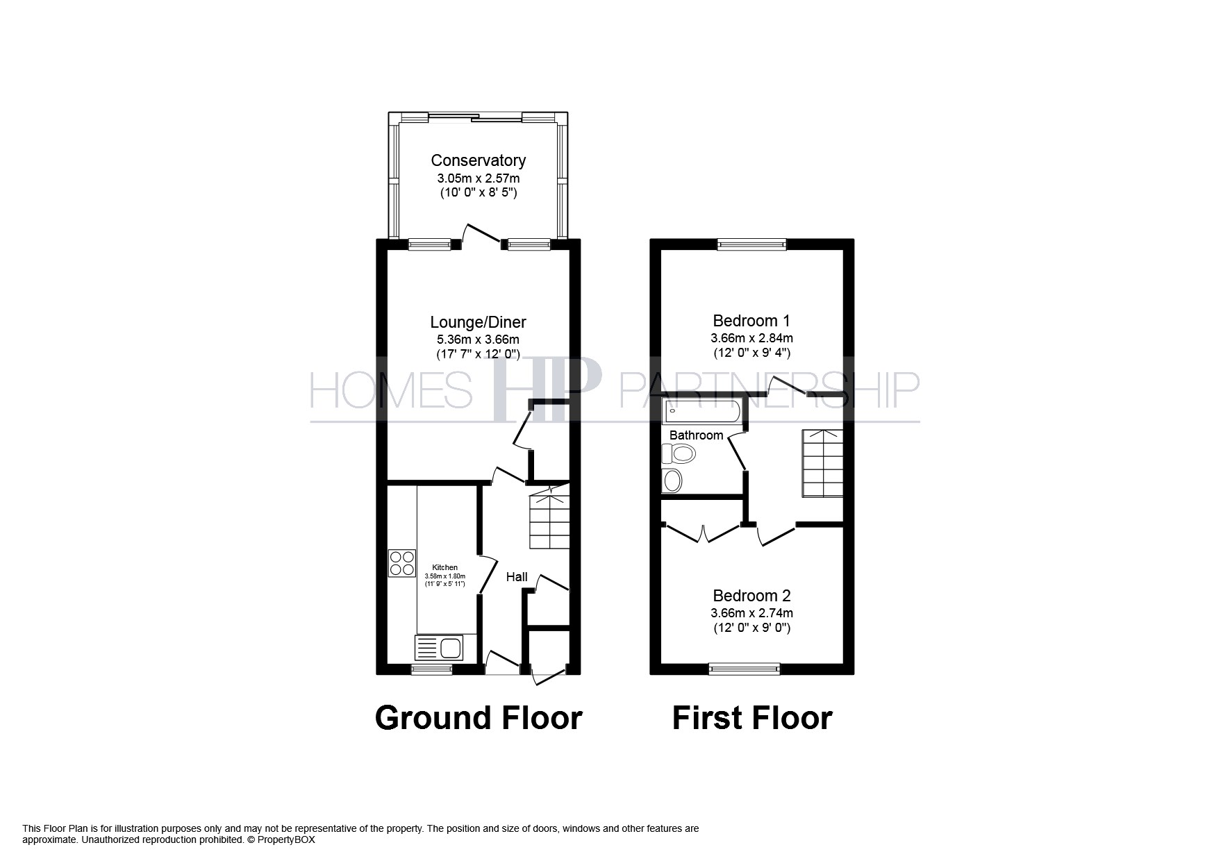 2 Bedrooms End terrace house for sale in Redwood Close, Crawley RH10