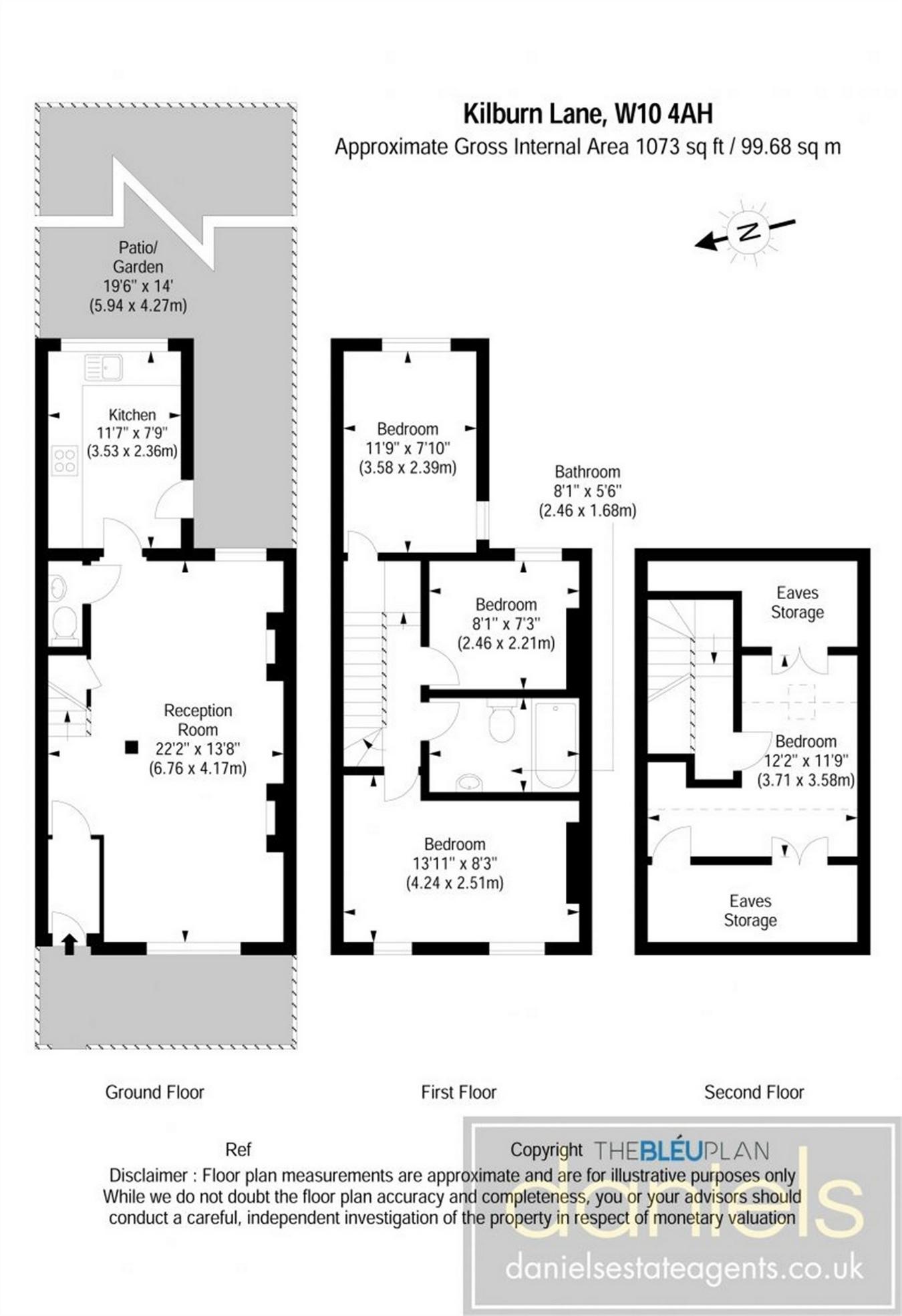 4 Bedrooms Cottage for sale in Kilburn Lane, Queens Park, London W10