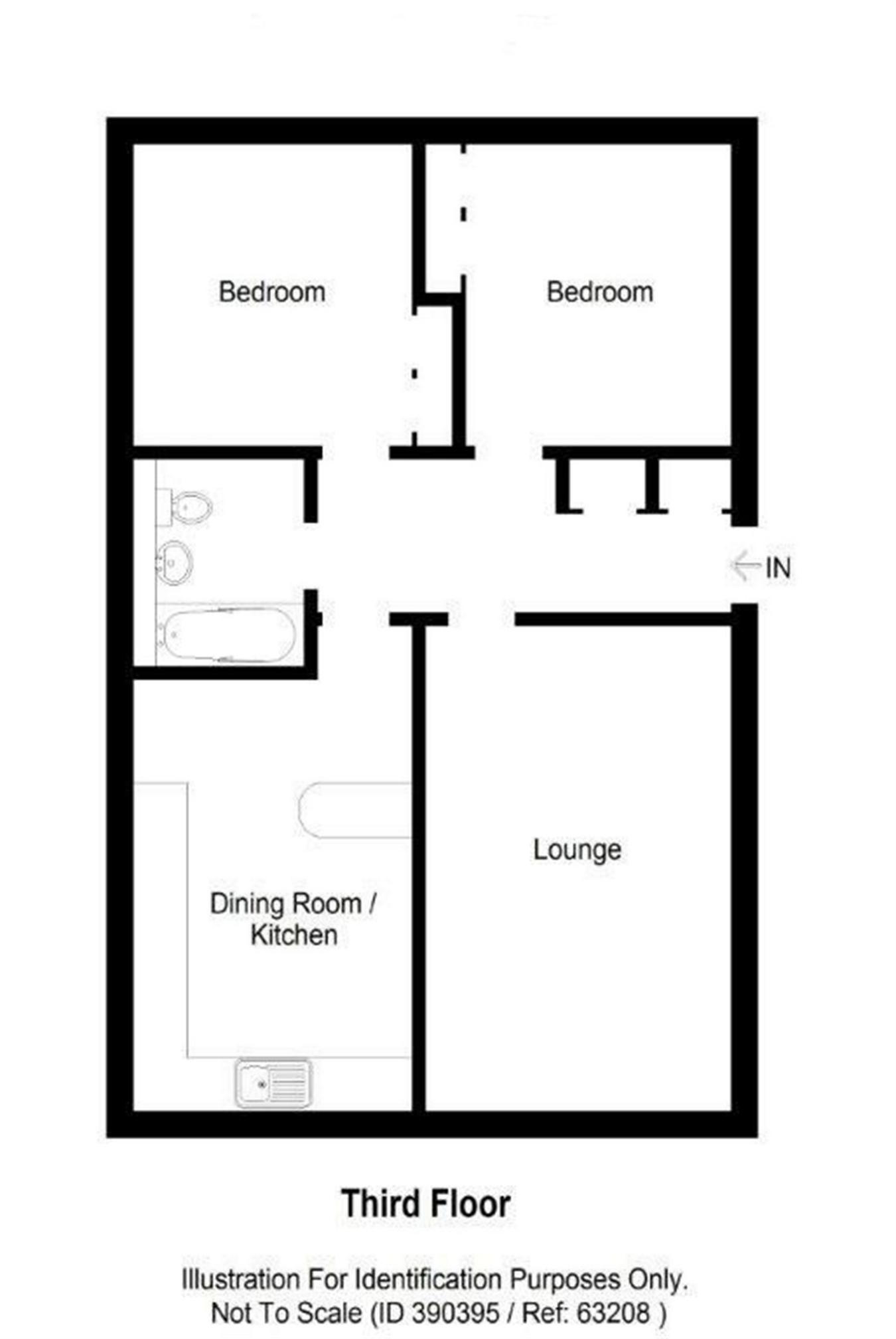 Binney Wells Kirkcaldy Fife Ky1 2 Bedroom Flat For Sale