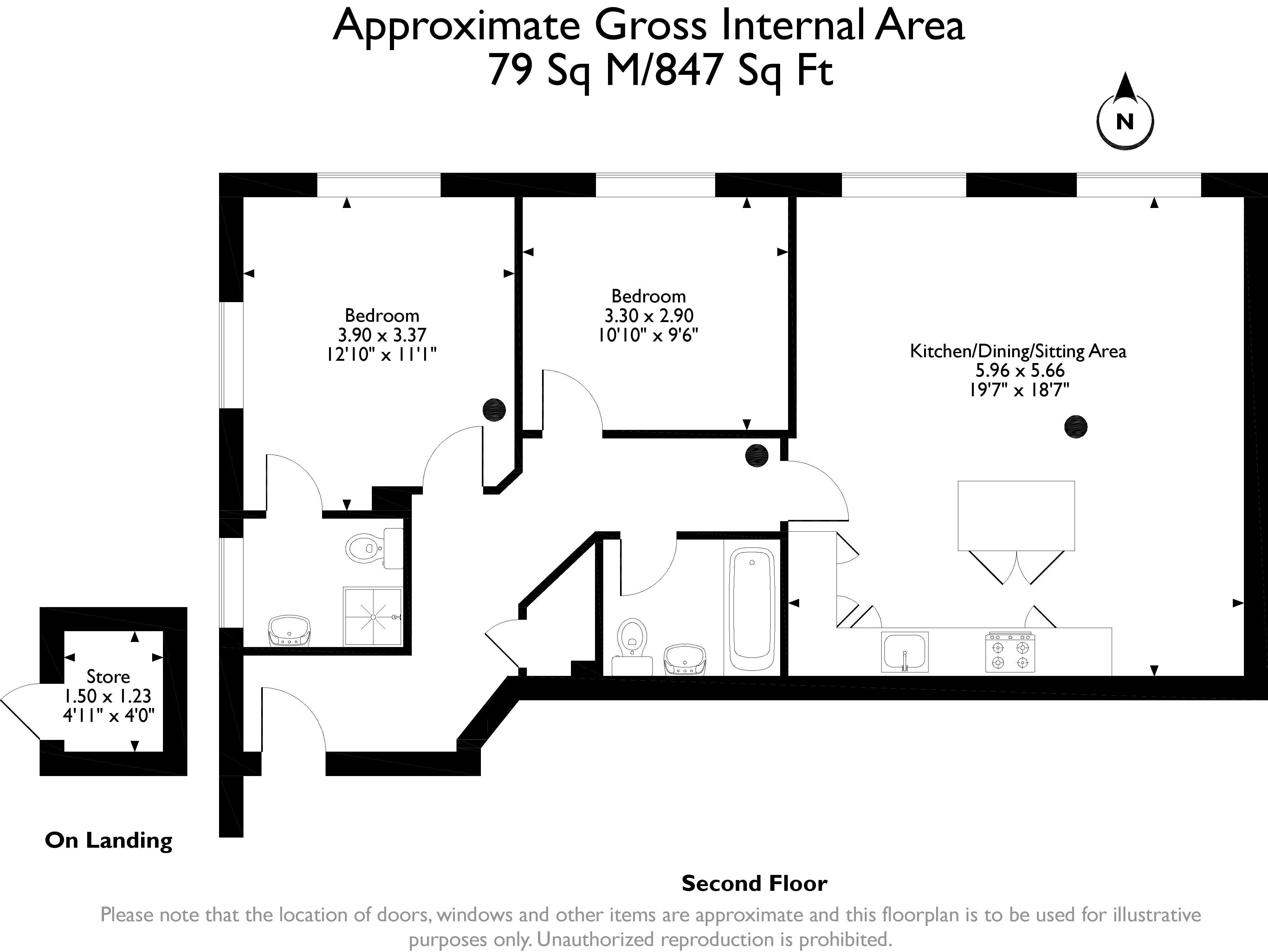 2 Bedrooms Flat for sale in Burnside, Addingham, Ilkley LS29