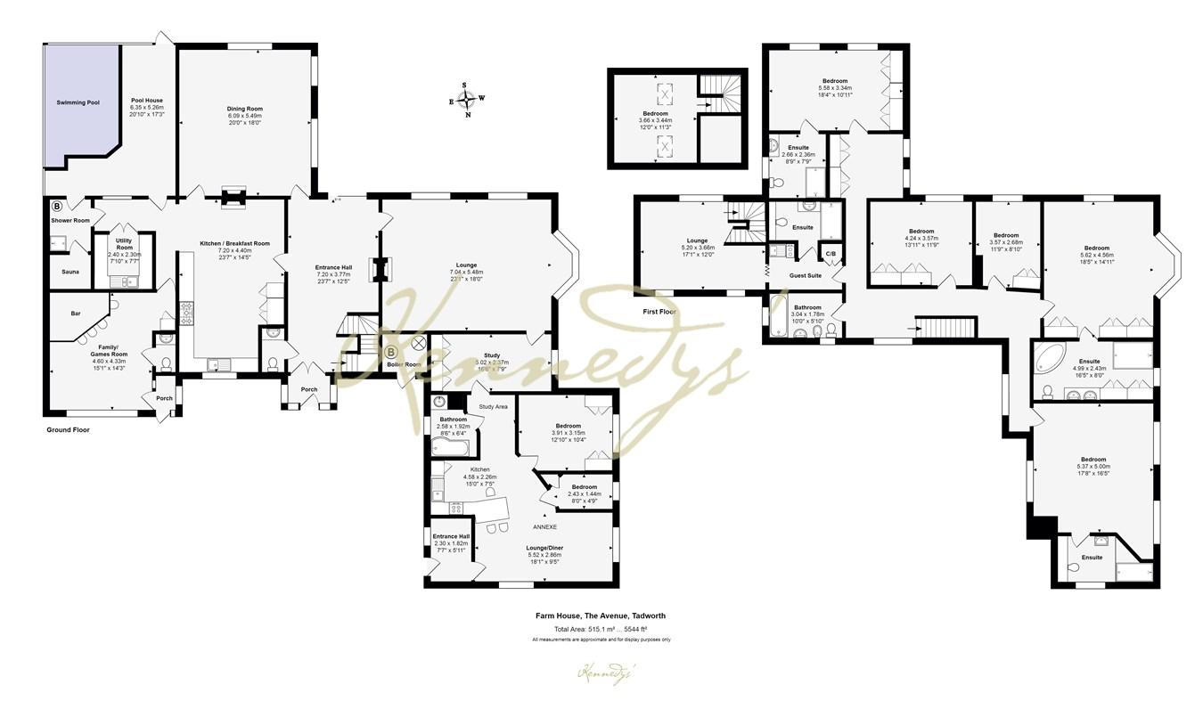David Lloyd Epsom >> The Avenue, Tadworth KT20, 6 bedroom detached house for sale - 45471016 | PrimeLocation
