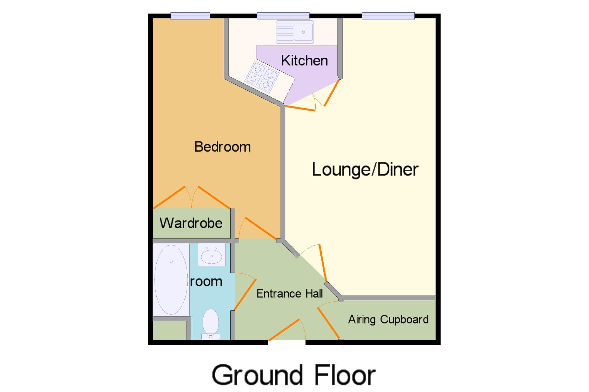Glenmoor Road West Parley Ferndown Bh22 1 Bedroom