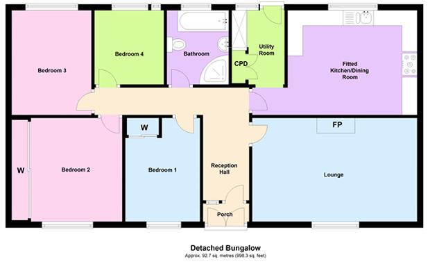 Abernant Carmarthen Carmarthenshire Sa33 4 Bedroom