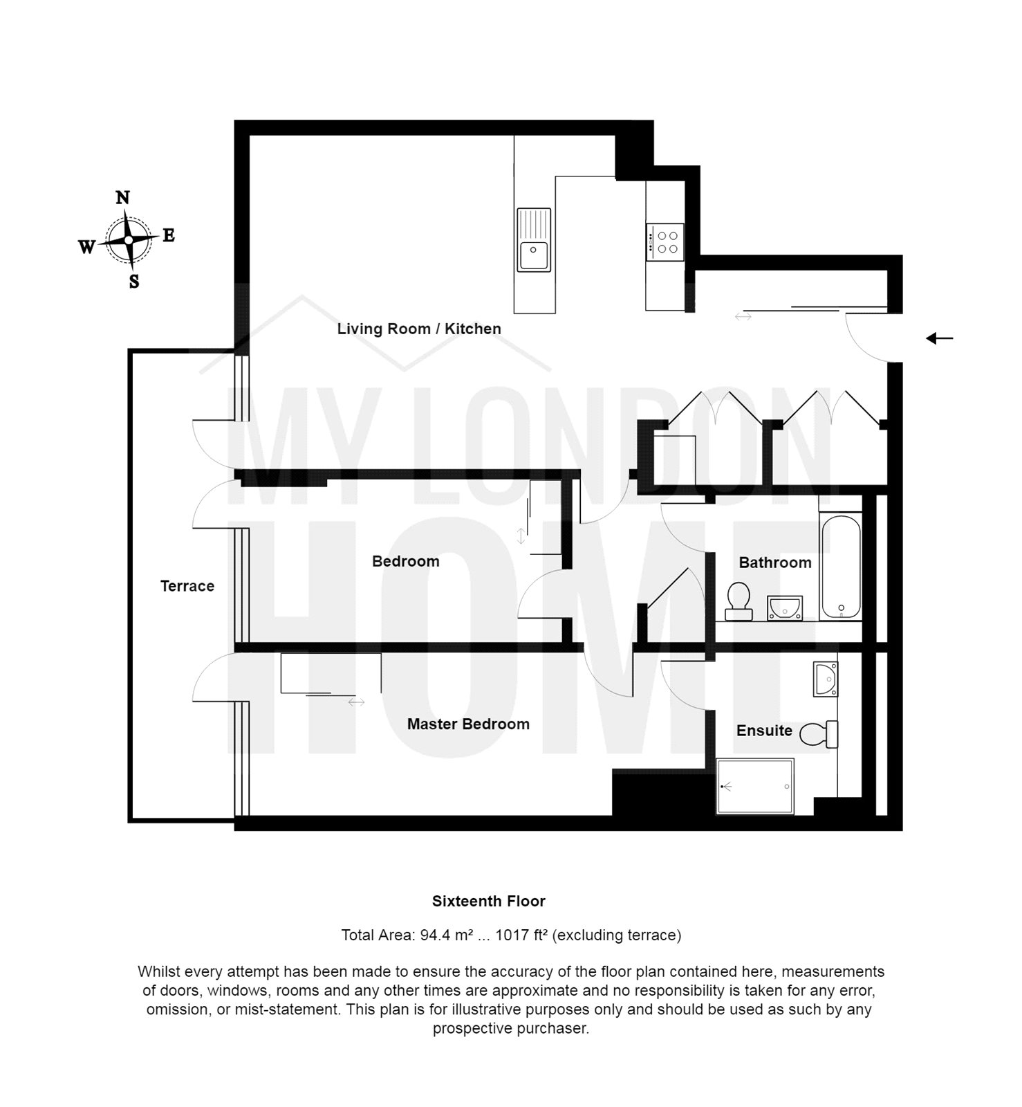 2 bed property for sale in markham heights 5 crossharbour plaza