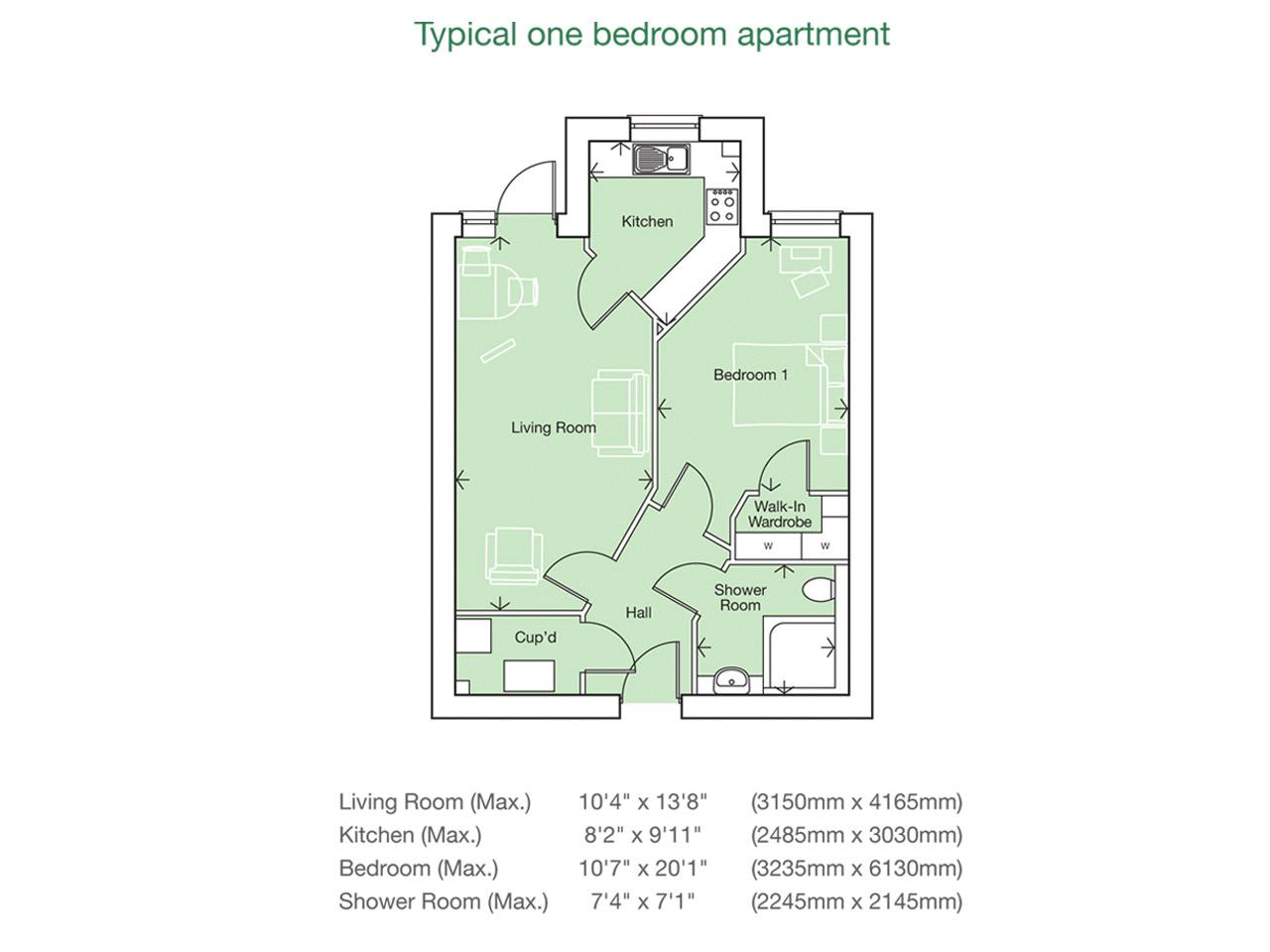 Ryland Place Norfolk Road Edgbaston B15 1 Bedroom