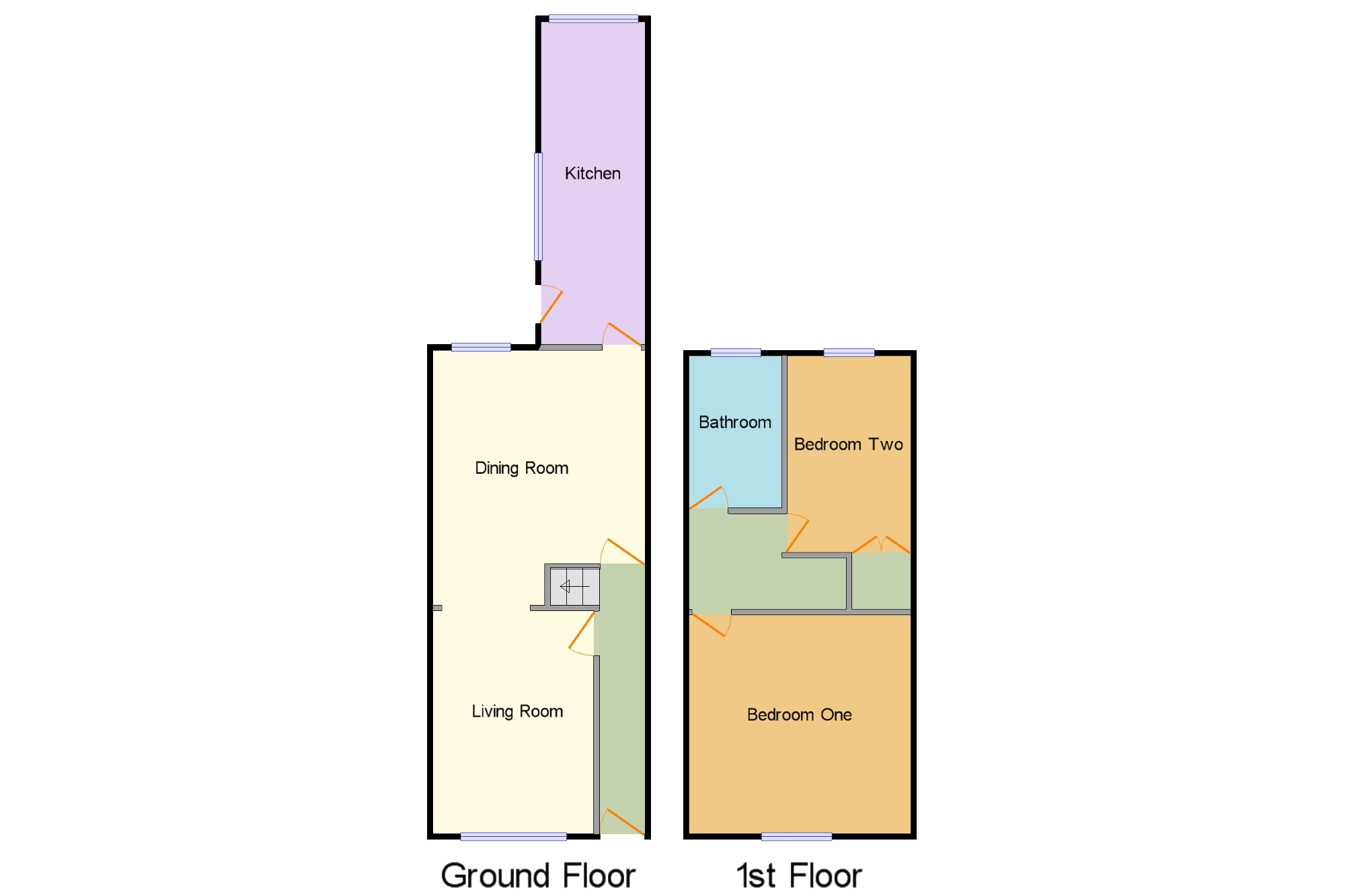 2 Bedroom Terraced House For Sale 44841701 Primelocation